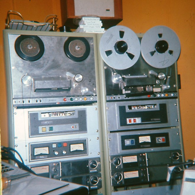 Reel to Reel Ampex CKSO Radio Production