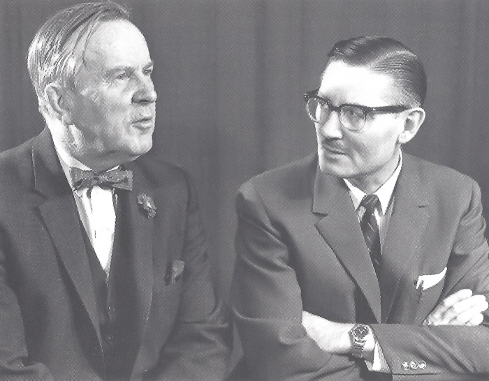 Lester B. Pearson And Basil Scully