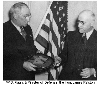 W.B. Plaunt & James Ralston