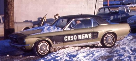 CKSO News Vehicle - Cambrian Broadcasting Limited - Sudbury